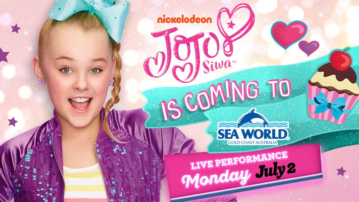 Jojo Siwa Is Coming To Sea World